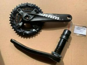 SRAM S1000 BB30 30mm 38T 24T Double Mountain Bike 10 Speed Chainset 175mm
